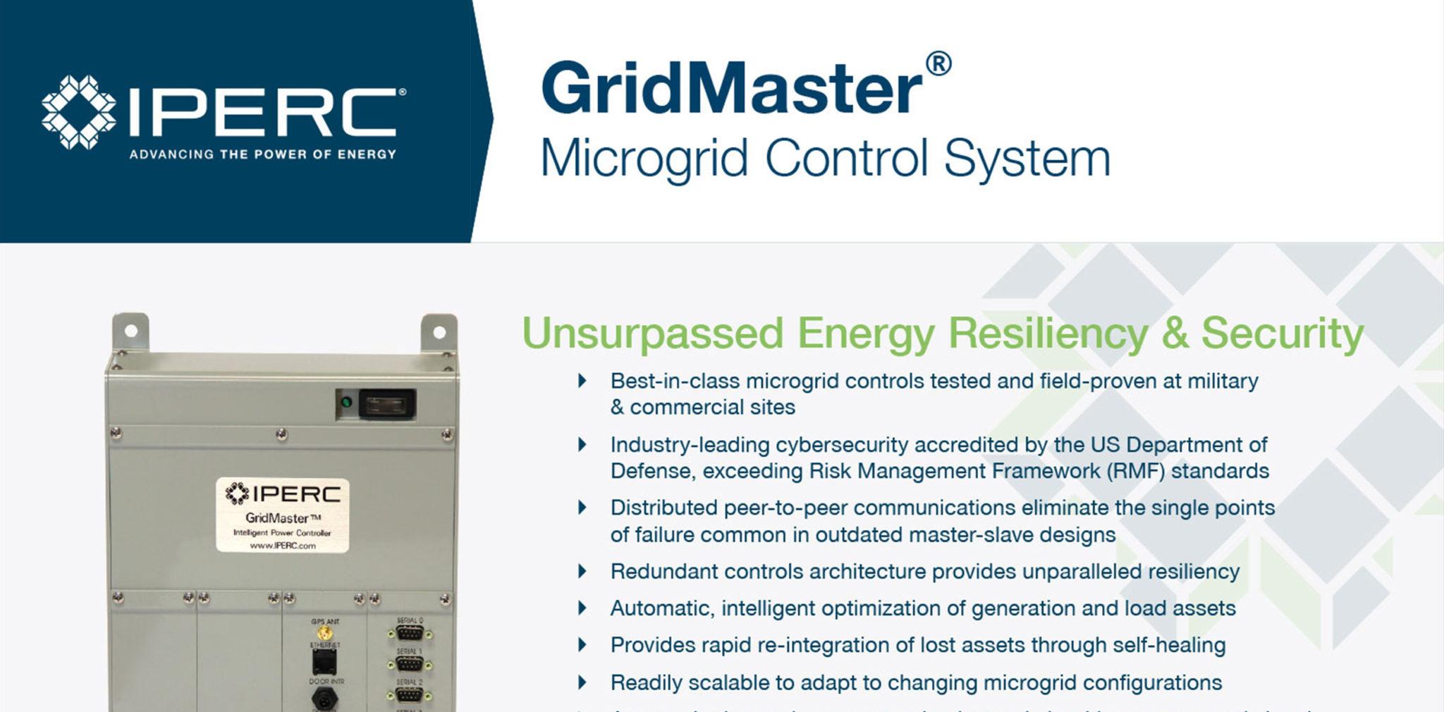 IPERC GridMaster Datasheet
